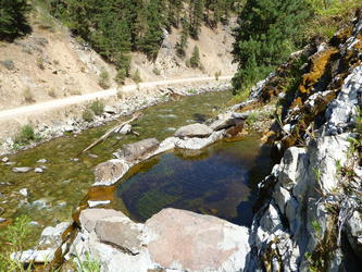 Cliff pool(Pete Creek)